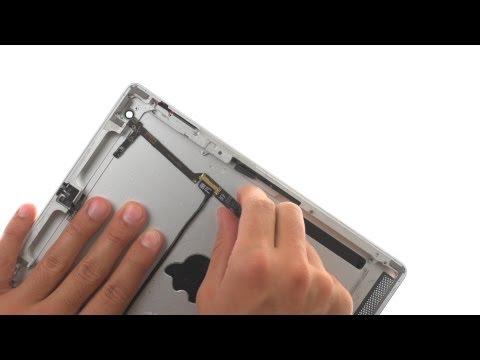 Back Housing Repair - iPad 2 Wifi How to Tutorial