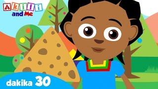 Jifunze Maumbo na Akili and Me!   Video na nyimbo kwa watoto   LEARN SHAPES IN SWAHILI