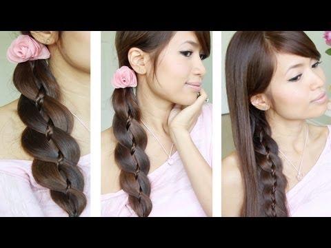Video Of The Week: 4 Strand Braid Hair Tutorial