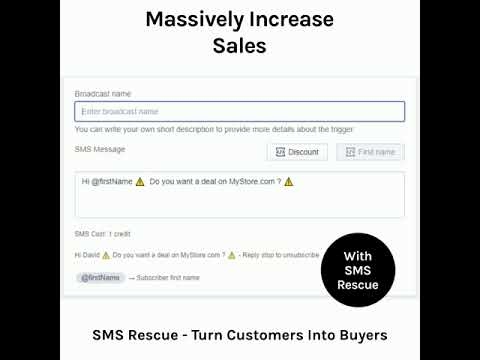 SMS Rescue - Massively-Increase-Sales
