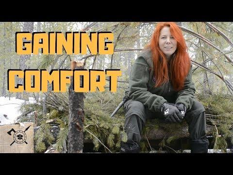 Gaining comfort in the wild