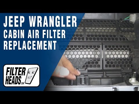 How to Replace Cabin Air Filter Jeep Wrangler