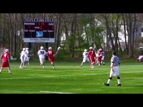 Kyle Gibson - 2010 Ridgewood HS Varsity Lacrosse Highlights