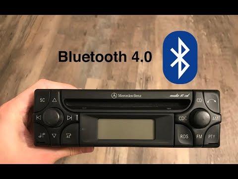 Mercedes Benz Audio 10 CD - Bluetooth Integration (inelegant)