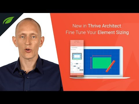 Thrive Architect's Layout & Position Interface Gets a Design Geek Upgrade