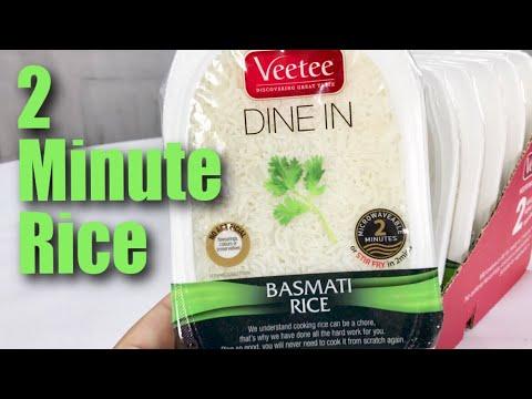 Veetee Dine In Basmati 2-Minute Microwavable Rice Taste Test and Review