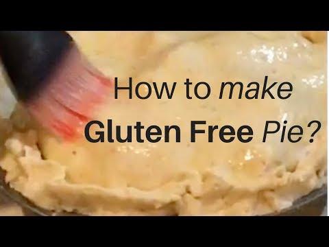 How to make gluten free pie?