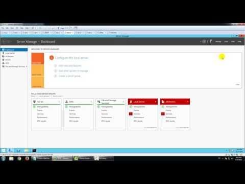Transfer FSMO Roles in Windows Server 2012 R2