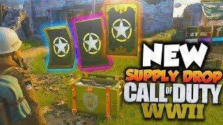 COD: WWII NEW SUPPLY DROP, HEADQUARTERS & LEADERBOARD INFO! (Call Of Duty: World War 2 Gameplay)