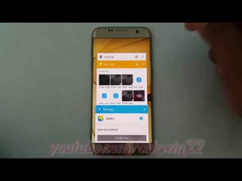 Samsung Galaxy S7 Edge : How to change default app (Android Marshmallow)