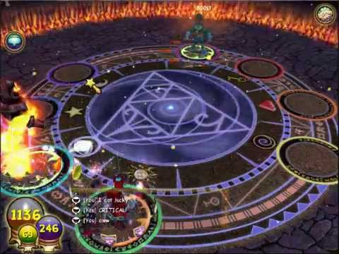 Wizard101- soloing efreet quest(boss)