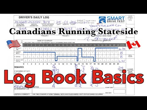Log books | Canadians Driving into the United States