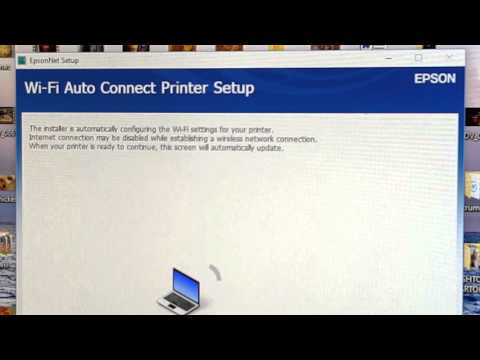 Epson xp-630 startup driver and wifi install