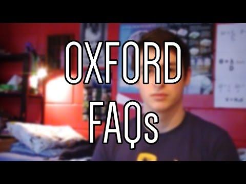 Oxford FAQs