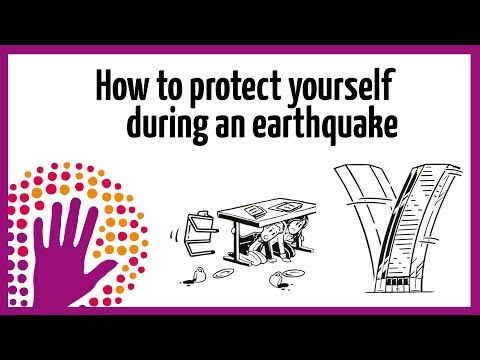 How to protect yourself during an earthquake