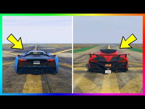 The Fastest Unreleased GTA Online DLC Super Cars & Vehicles Speed Test! (GTA 5 Update)