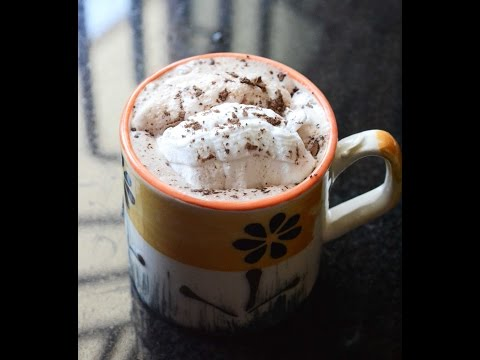 Easy Hot Chocolate Recipe (with cocoa powder)