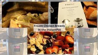 Frozen Chicken Breast In The Instant Pot