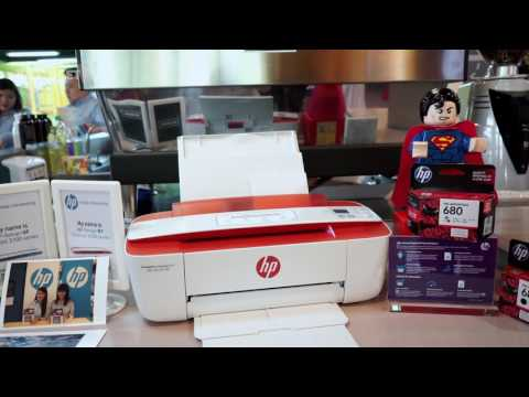 This is HP's world's smallest All-in-One Wireless Printer!
