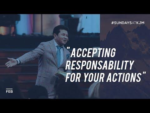 Do You Accept Responsibility for Your Actions? - Apostle Guillermo Maldonado | March 4, 2018