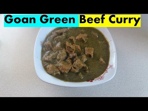 Goan Green Beef Curry- Original Goan