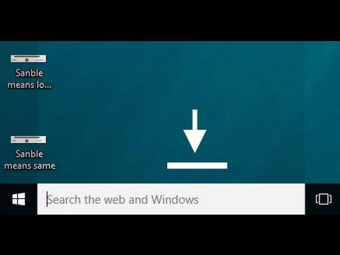Windows 10 - How to Hide the Taskbar