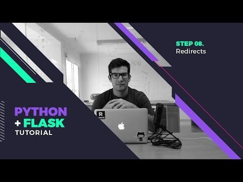Step 08 - Flask Redirects (301, 302 HTTP responses)