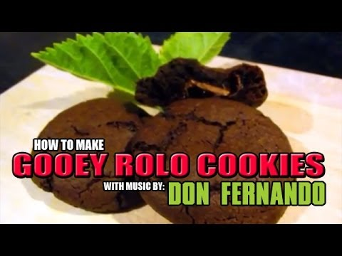 How to make Rolo Cookies [DISCO'S KITCHEN] Don Fernando
