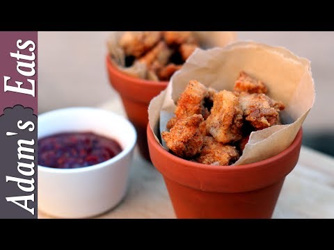 Popcorn chicken with homemade barbecue sauce | Fast food recipes