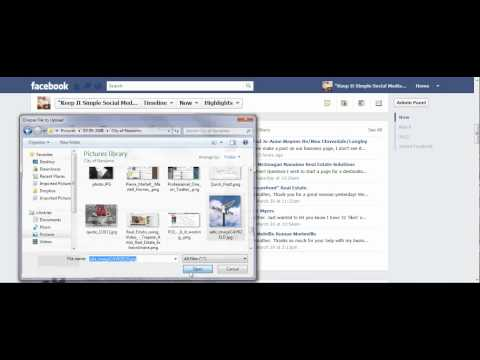 How To Upload a Photo to Your Facebook Business Page