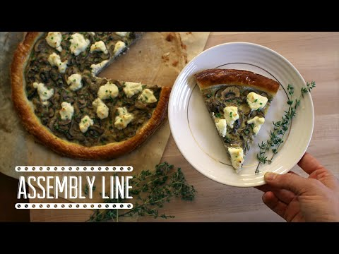 Mushroom and Goat Cheese Tart | Assembly Line