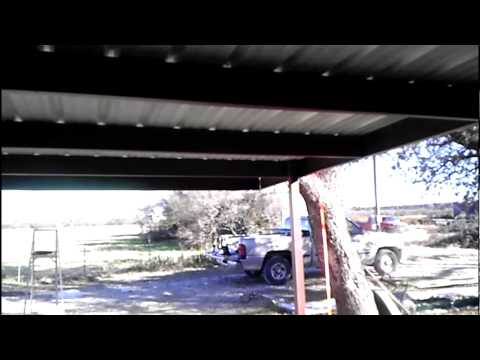 DIY 24x24 Carport Bolt together from Mueller