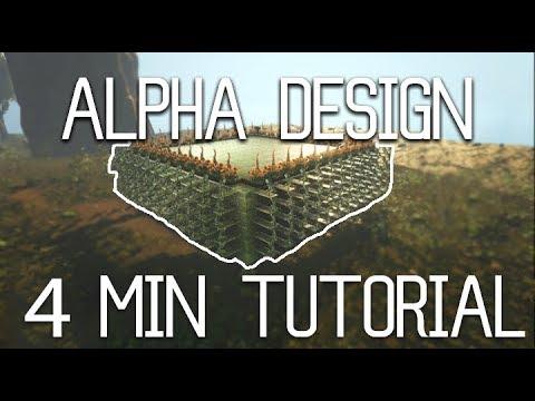 Ark - How every ALPHA base is built [Tutorial]