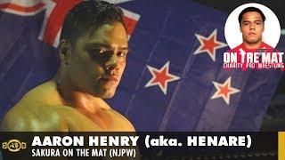 Interview - Aaron Henry aka. Henare (Sakura On The Mat)