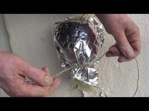 How to insulate the outside tap/stop it from freezing! DIY