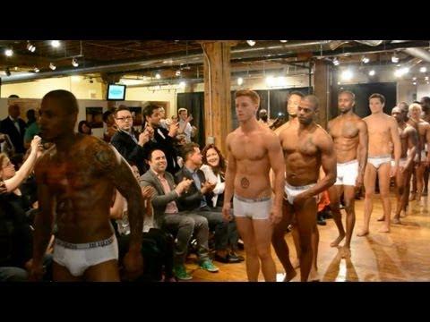 THE G-SCENE: Berdan Underwear Fashion Show & Launch Party (Beautiful Men!!!)
