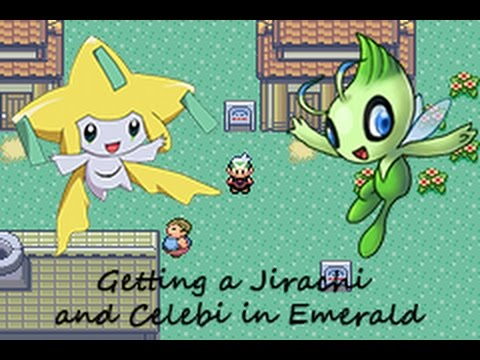 Pokémon Emerald - Getting a Jirachi and Celebi (Without Cheat)