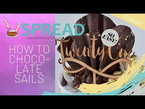 How To Make Chocolate Sails