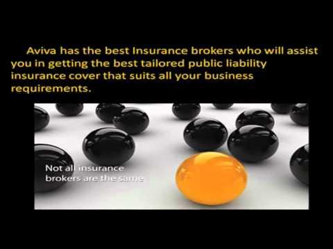 AVIVA Public Liability Insurance