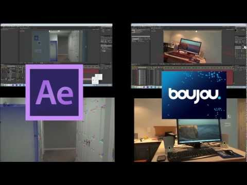 Boujou VS After Effects 3D Motion Tracker