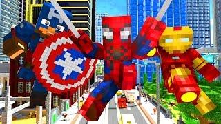 Avengers Life - Craftronix Minecraft Animation