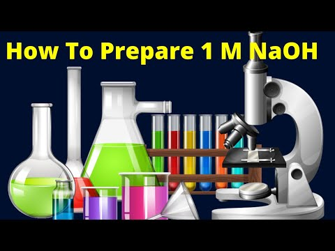 How to prepare 1M NaOH solution