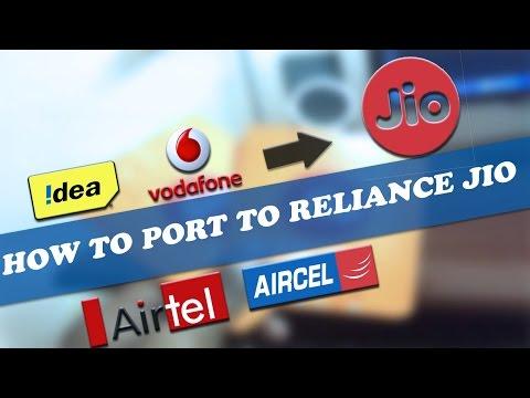 How To Port To Reliance Jio | RELIANCE MNP