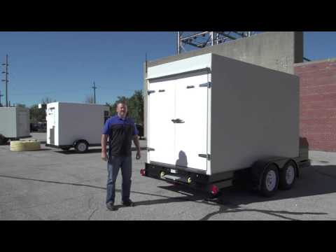 Polar King | 6x12 Custom Cooler Trailer