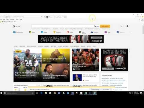 Internet explorer default browser