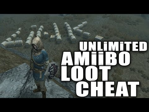SKYRiM Unlimited Amiibo Loot CHEAT on Nintendo SWITCH