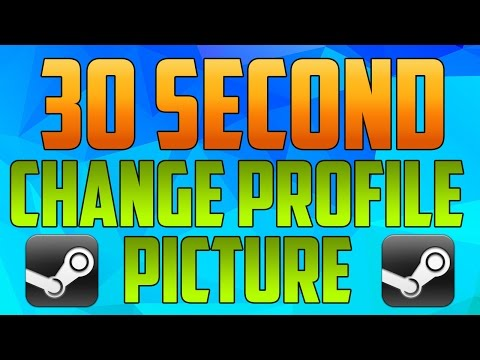 Steam : How to Change Profile Picture 2016 (EASY)