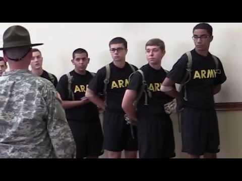 First Days of Army Basic Training: Reception Battalion
