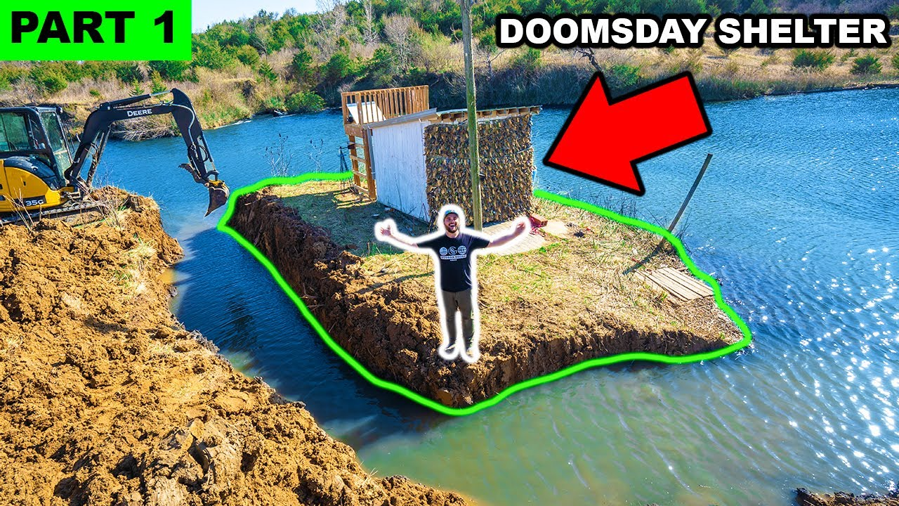 Building a PRIVATE ISLAND in My BACKYARD!!! (Part 1)