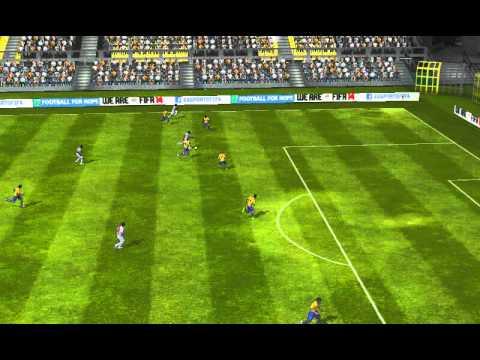 FIFA 14 Android - messi-armando10 VS Arsenal